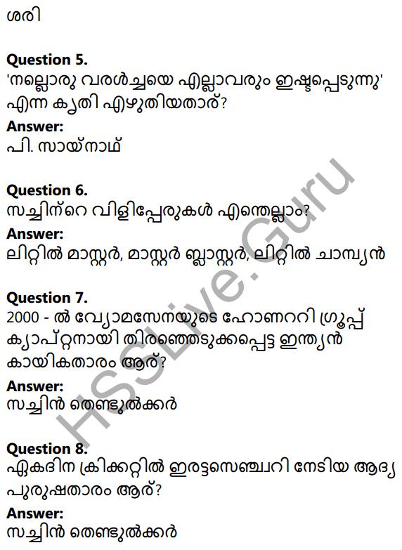 Plus Two Malayalam Textbook Answers Unit 4 Chapter 1 Vaamkhadayude Hridayathudippukal 2