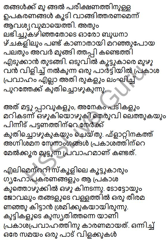 Prakasam Jalam Pole Anu Summary 6