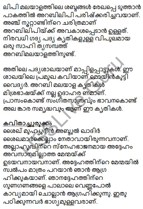 Muhyadheen Mala Summary 3