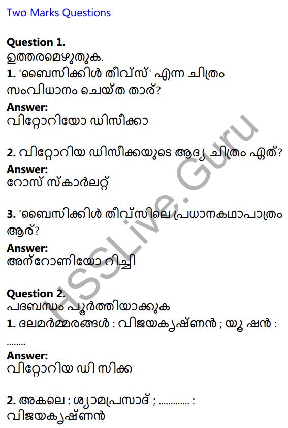 Plus One Malayalam Textbook Answers Unit 2 Chapter 3 Kazhinjupoya Kalaghattavum 1