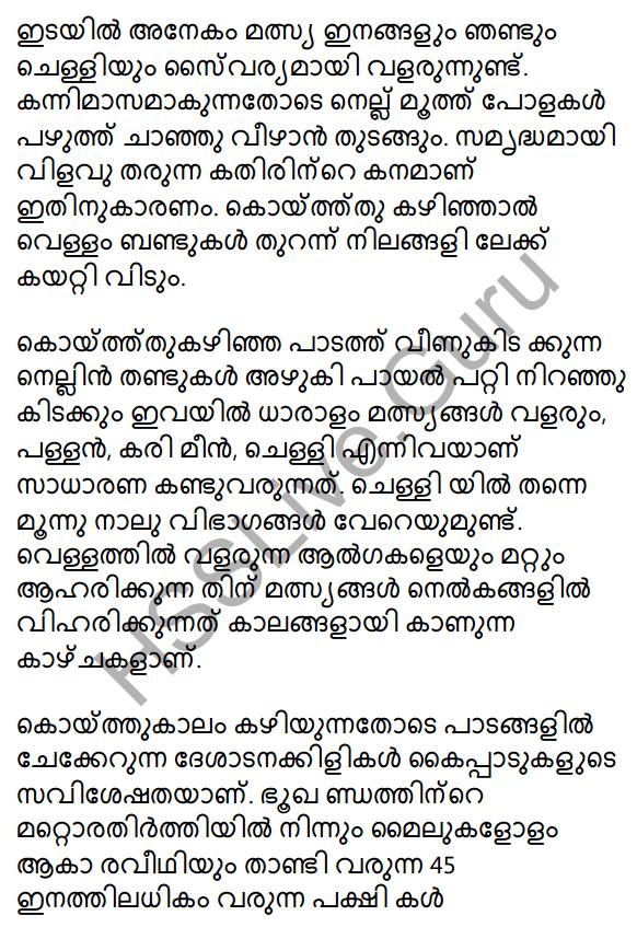 Plus One Malayalam Textbook Answers Unit 2 Chapter 4 Kaippad Kelkkunnundo 36