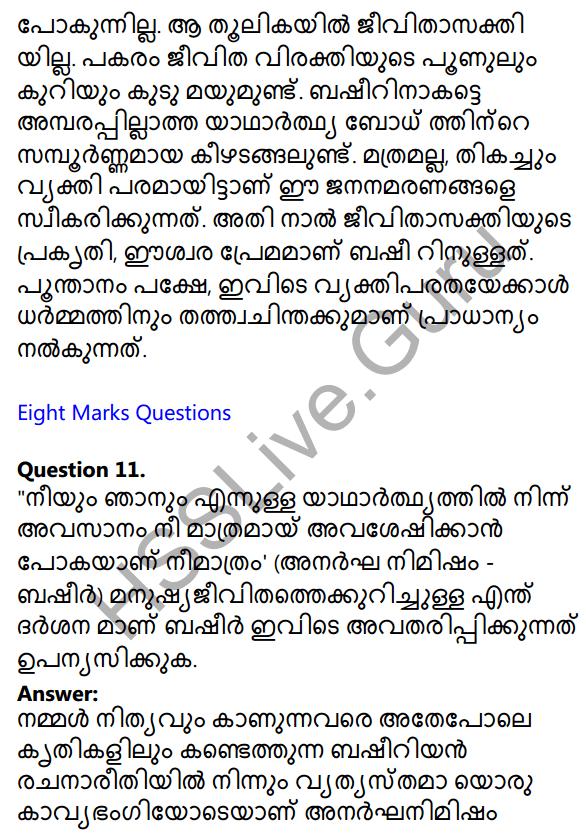 Plus One Malayalam Textbook Answers Unit 3 Chapter 3 Anargha Nimisham 27