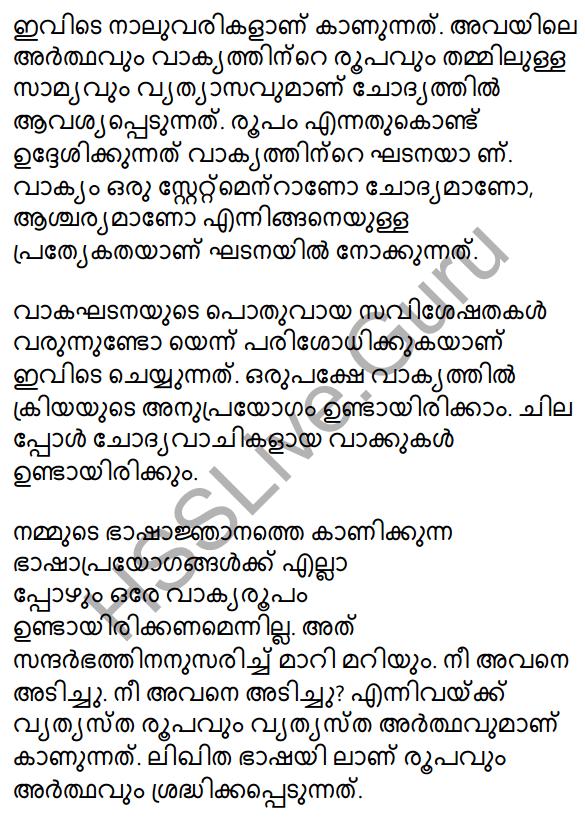 Plus One Malayalam Textbook Answers Unit 3 Chapter 4 Lathiyum Vediyundayum 17