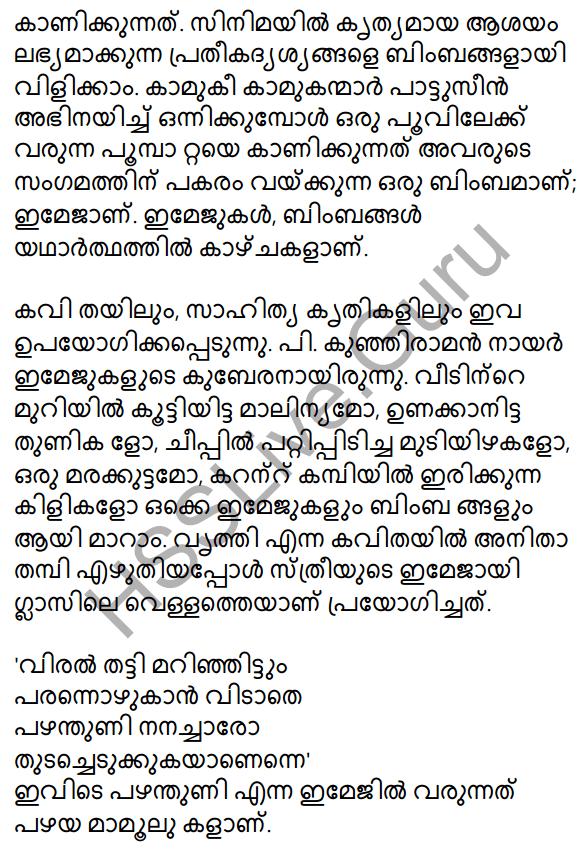 Plus One Malayalam Textbook Answers Unit 3 Chapter 4 Lathiyum Vediyundayum 81