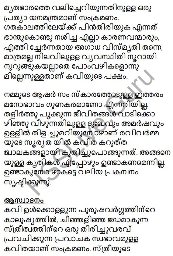 Samkramanam Summary 2