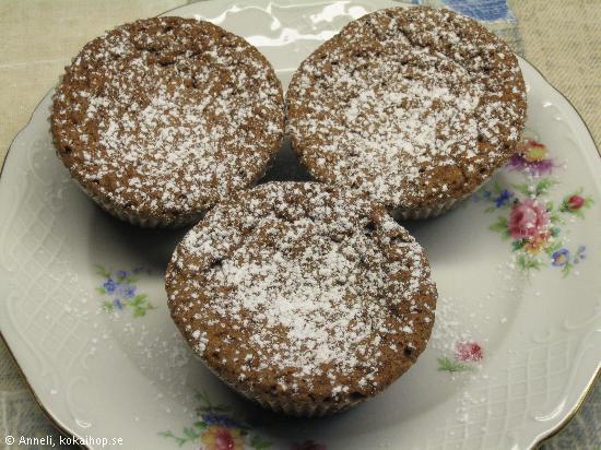 Kladdmuffins - Recept på H:ssons Skafferi