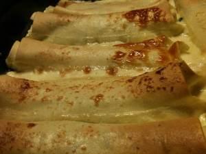 Cannelloni med skinka, spenat och ädelost H:ssons Skafferi