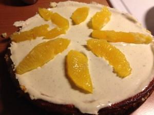 Pepparkakscheesecake med apelsin - Recept på Hssons Skafferi