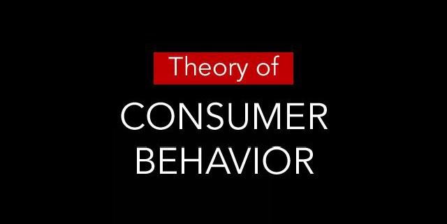 Theory Of Consumer Behaviour