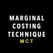 marginal costing techniques
