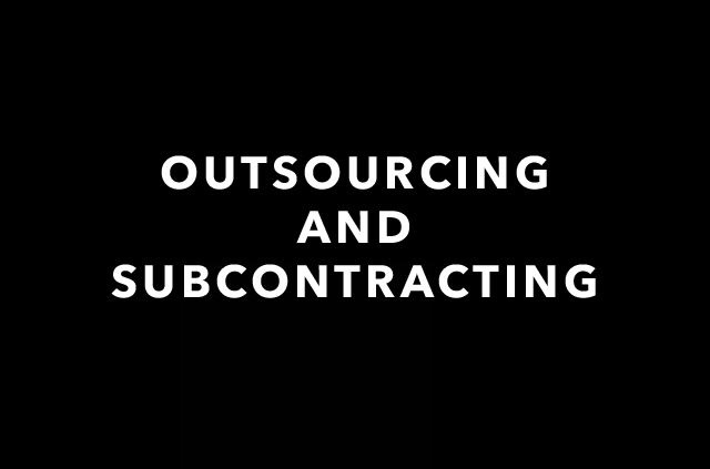Outsourcing And Subcontracting - HS Tutorial