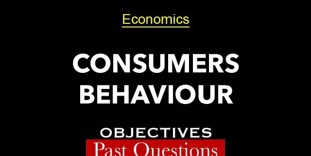 Consumers Behaviour