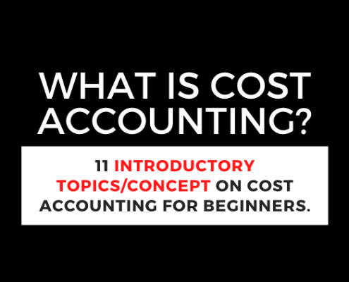 cost-accounting definition