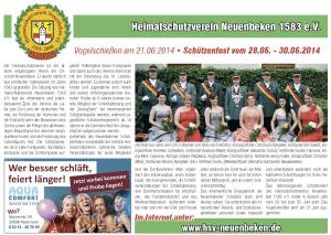 Schützenjournal 2014