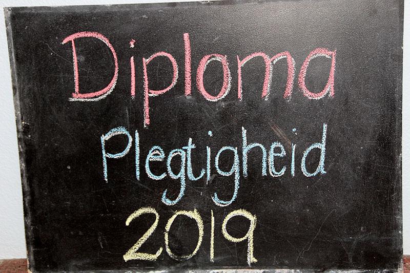 Graad R Diploma Plegtigheid 2019