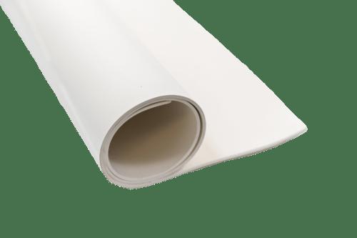 white nitrile sheet