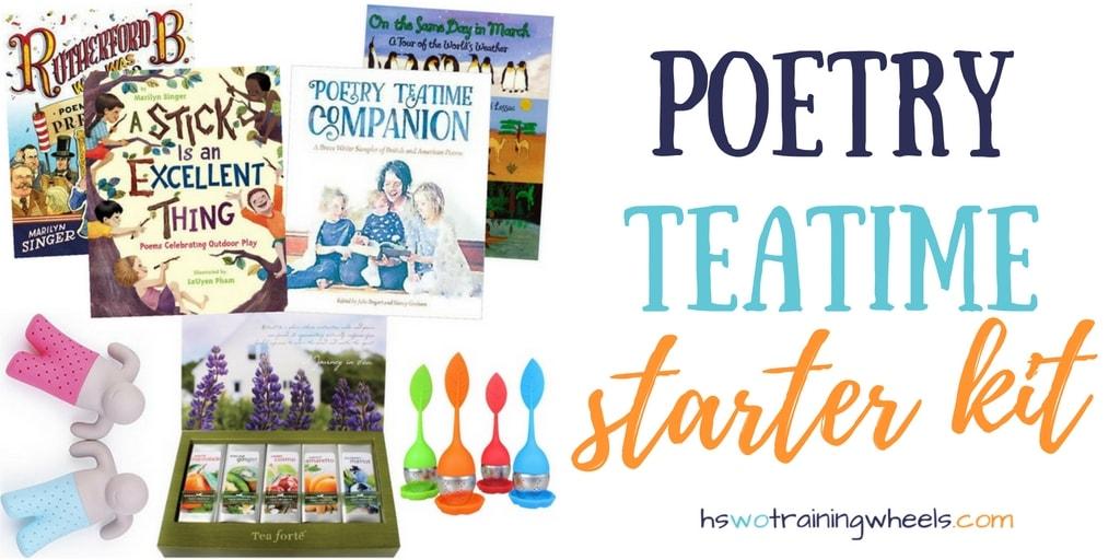 Poetry Teatime Starter Kit
