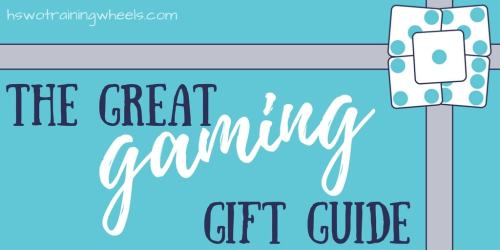 The great gaming gift guide is a collection of gift suggestions for all types of gamers - little people, homeschool ideas and more!