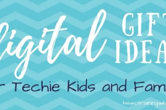 Digital subscriptions are the perfect gift for the techie kid or family who has everything! It's the gift that keeps on giving, without taking up space!