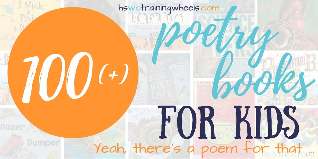 100 Poetry Books for Kids