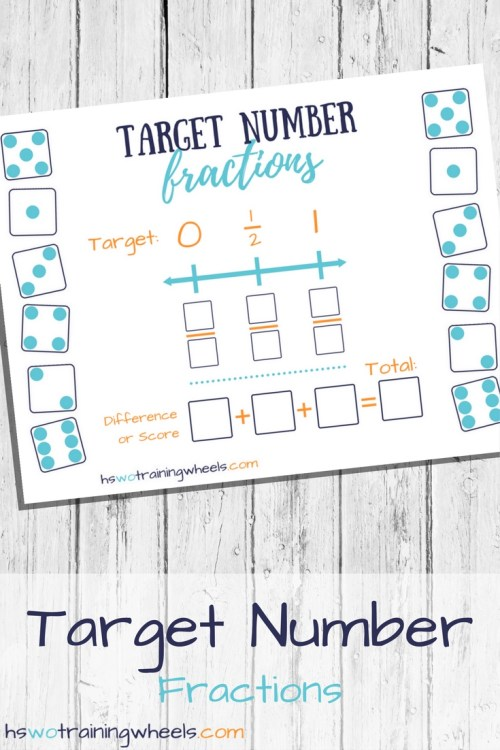 Rules are easy to learn. Fraction knowledge and understanding built into strategy and gameplay. Adaptable to a wide range of ages and math abilities!