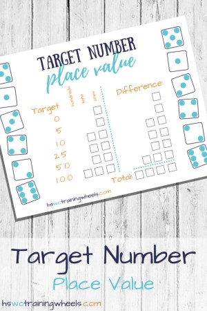 Product - Target Number Place Value