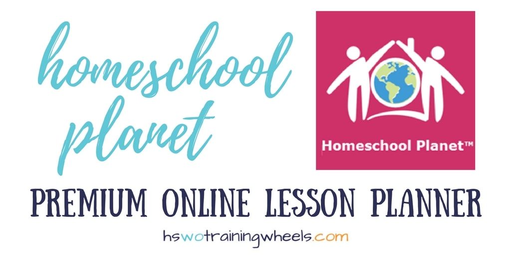 Homeschool Planet is a robust online digital planner for the homeschool. Plan lessons, catalog resources, and adapt the schedule to meet your needs!