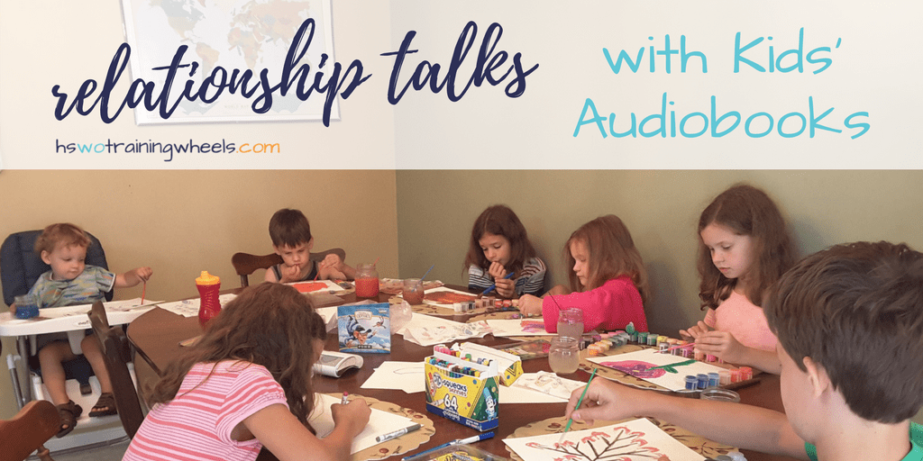 Relationship Talks with Kids' Audiobooks