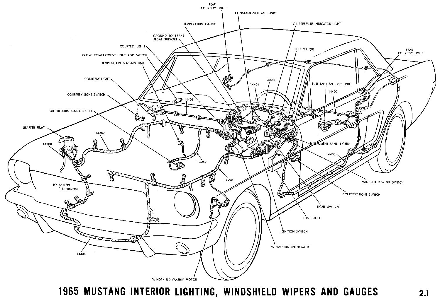 Mustang Alternator Belt Diagram Wiring Schematic