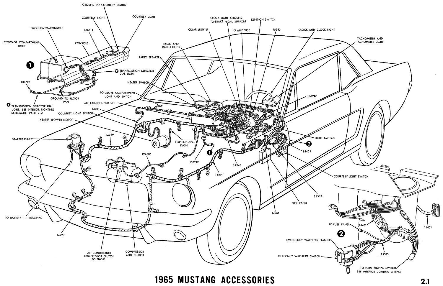 Mustang Wiring Schematic
