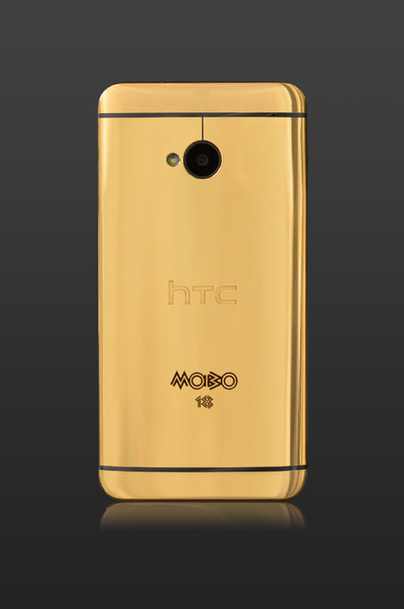 HTC One Gold Back Grey