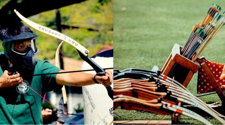 Ok savaşları Archery tag Istanbul