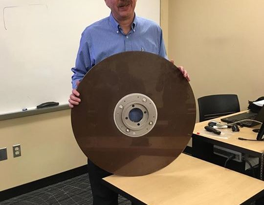 10MB hard disk from the 1960s …