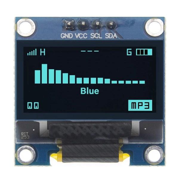 4pin 0 96 White Blue Yellow blue 0 96 inch OLED 128X64 OLED Display Module 0