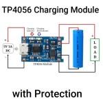 TP4056 Charging Module circuit