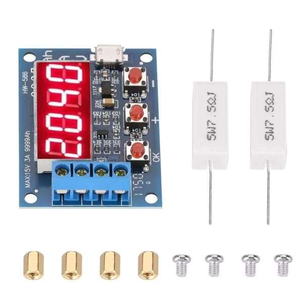 Battery Capacity Meter Discharge Tester