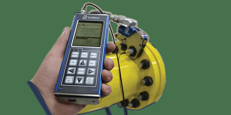 BoltMeter Ultrasonic Bolt Tension Monitor