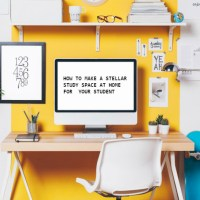 How to Make a Stellar Study Space at Home for Your Student
