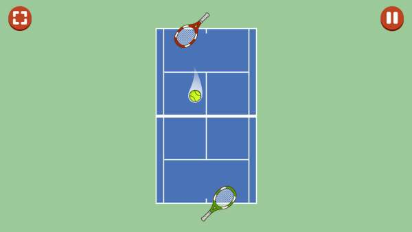 1 on 1 Sports Game - Fast Tennis