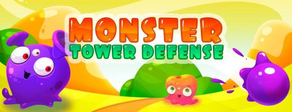 Monster Tower Defense title banner