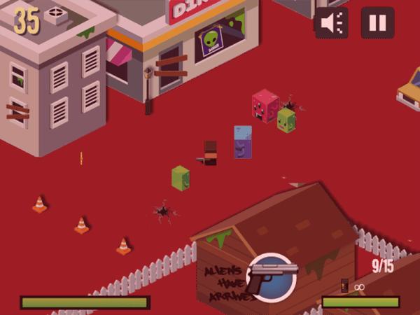 Alien Town HTML5 Gameplay