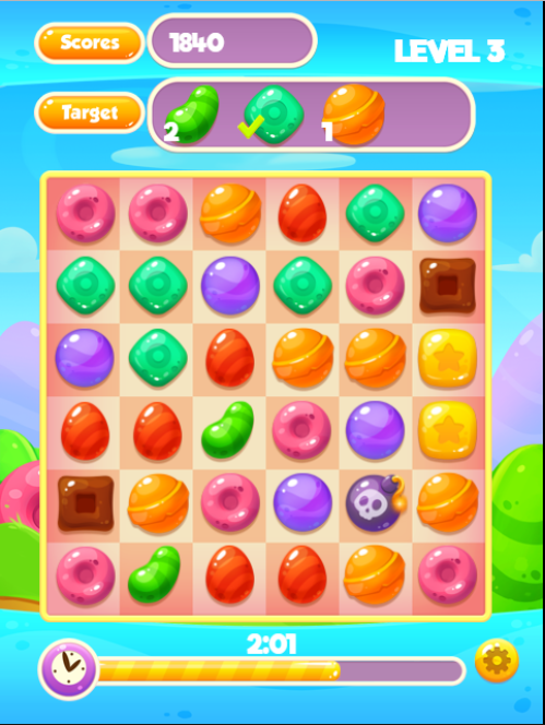Candy Jam HTML5 game