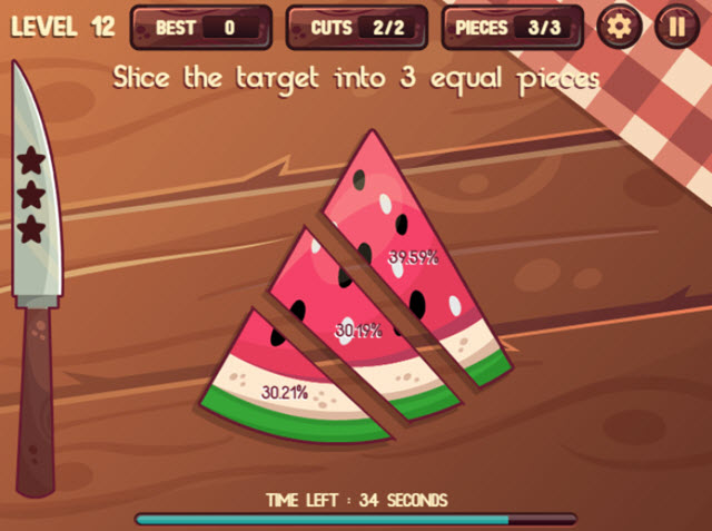 Chef Slash HTML5 Game watermelon