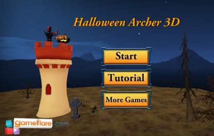 Halloween Archer 3D Game