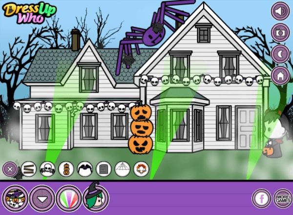 Halloween House Decorator gameplay