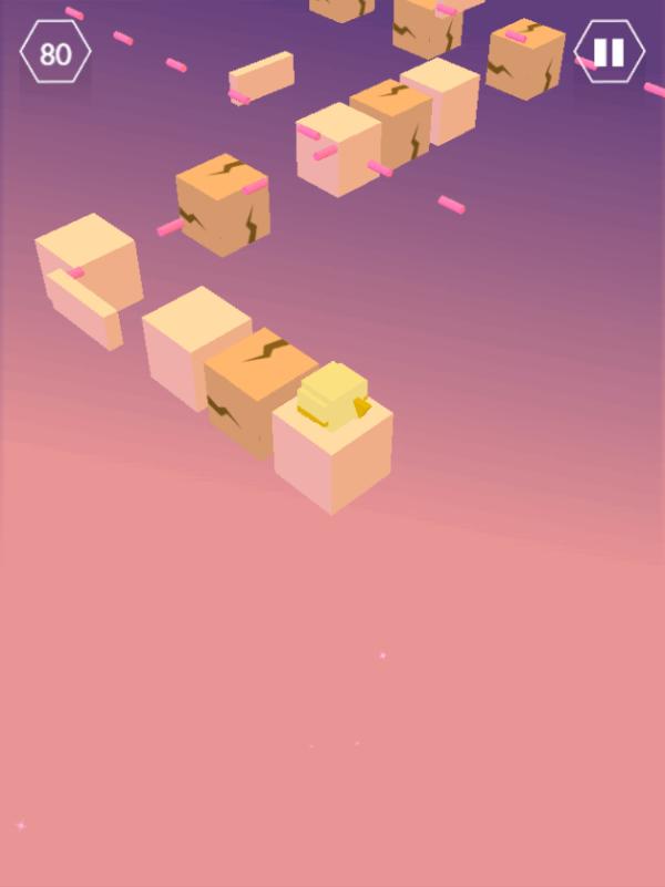 cracked blocks