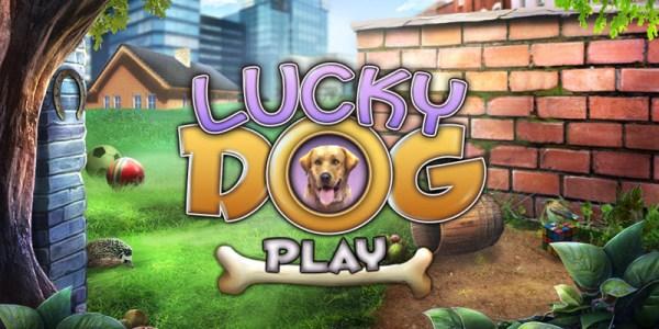 Lucky Dog Hidden Object Game banner