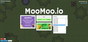 MooMoo game - select server