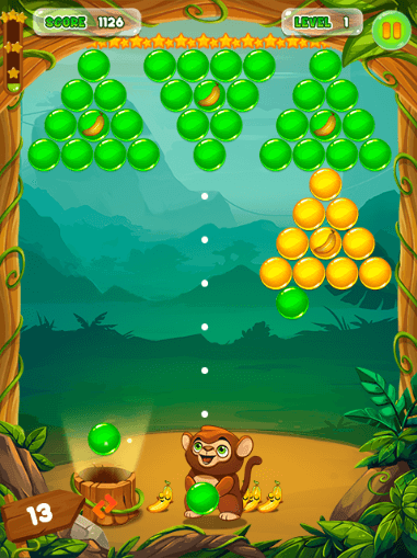 Monkey Bubble Shooter - Screenshot
