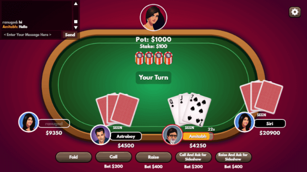 Teen Patti Your Turn
